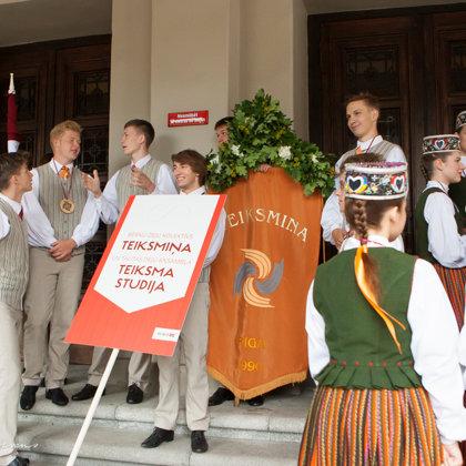 Latvijas valsts simtgades zīmē notiekošie XXVI Vispārējie latviešu Dziesmu un XVI Deju svētki