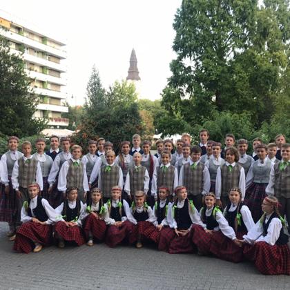 """XV. Deju un mūzikas festivāls """"Sv.Stefana diena"""", Ungārijā, Kečkemētā/ 2018.g. augusts"""